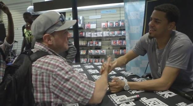 Cole Album signing
